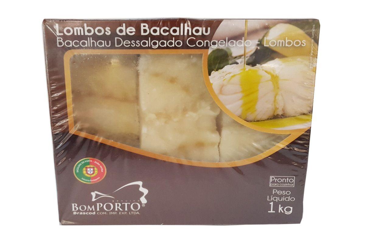 Bacalhau Dessalgado Bom Porto 1kg